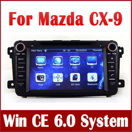 Wholesale Dvd Player For Cars - Car DVD Player for Mazda CX9 CX-9 2007-2013 with GPS Navigation Radio Bluetooth TV USB SD AUX iPod SWC 3G Auto Audio Video Stereo Navigator