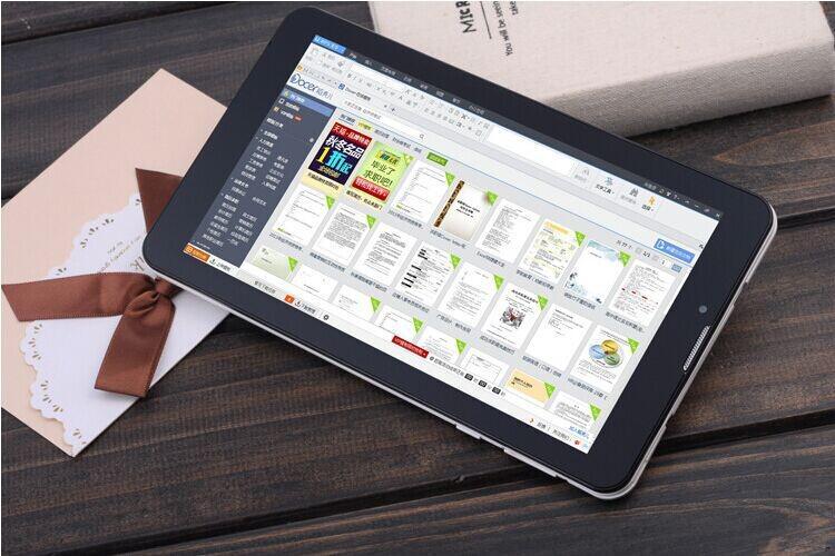 дешевые таблетки MTK6572 телефонный звонок таблетки 7 дюймов Android 4.4 мобильный телефон вызова встроенный Bluetooth GPS с розничной коробке DHL бесплатно
