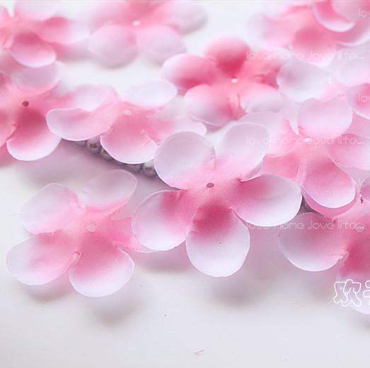 Simulation cherry blossom petals wedding petals rose petals fake artificial flower home and wedding decor free shipping