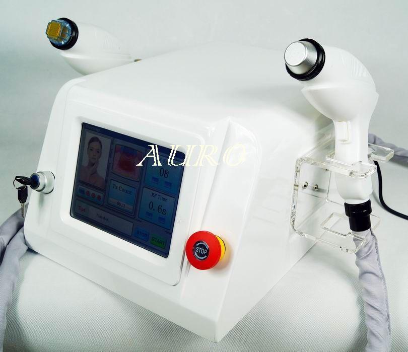 Professional Fractional RF Thermagic RF 피부 강화 및 주름 제거 냉각 얼굴 리프팅 미용 기계 AU-69