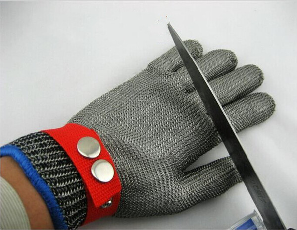 best selling New Arrival Stainless Steel Safety Cut Proof Protect Glove Metal Mesh Butcher Tools Supplies Good Quality