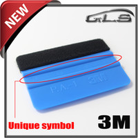 Wholesale Vinly Wrap - Felt 3M Squeegee For Vinly Film With Flexible Top Quality 3M Squeegee With Flet Car Vinly Film Wrap Tool Free Shipping By DHL For 500 Pieces