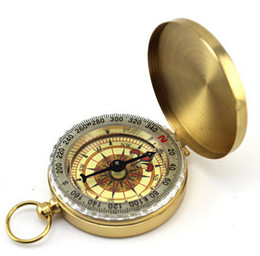 pocket watches for 2019 - Classic Pocket Watch Style Bronzing Antique Camping Compass For Outdoor activities cheap pocket watches for