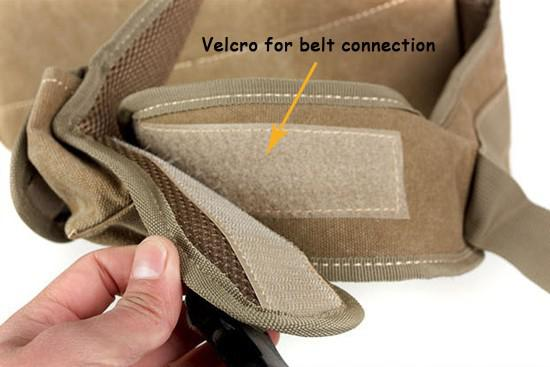 words details-belt connection