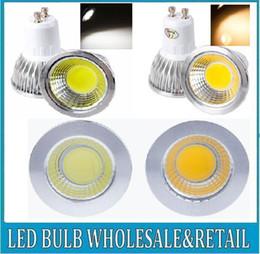 Wholesale Dimmable Mr16 Led 6w - COB 6W 9W 12W Led Spotlights Lamp 60 90 120 Angle GU10 E27 E26 MR16 GU5.3 Dimmable Led Bulbs Warm Cool White