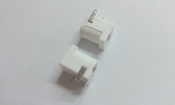 DC Power chargeur 5.5mm X 2.1 mm PCB Connecteur blanc