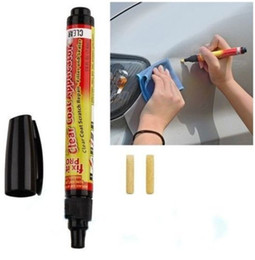Discount free pro - 2pcs New Portable Fix It Pro Clear Car Scratch Repair Remover Pen Free shipping