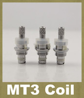 Wholesale ce4 replacement coils - MT3 Atomizer Changeable coil for Replacement coil heads coils for mt3 atomizer GS-H2 GS H2 ce4 ce5 ce6 ce7 vivi nova protank clearomizer
