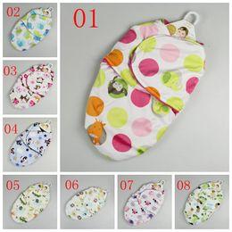 Wholesale Infant Swaddling - Swaddle Blanket Newborn Sleeping bags 2 Layers baby blanket sleepsacks wraps Baby Swaddling Sleep Bag Infant Wrap Fedex DHL