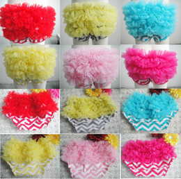 Baby Girl Ruffled Bloomers Canada - Baby girls ruffle bloomers lace baby love short BB pants training pants new arrivel