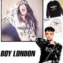 Wholesale Selling Boy London - Free shipping HOT SELLING hight quality cheap summer spring long-sleeve Bigbang eagle boy london brand design sweatshirt T-shirt