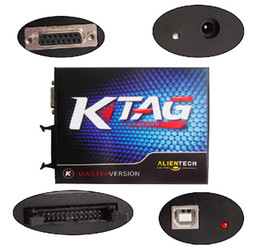 Wholesale Programming Testing - 2014 DHL Free Shipping KTAG K-TAG ECU Programming Tool ECU Prog Tool Master Version KTAG K TAG ECU Chip Tunning can test car and truck