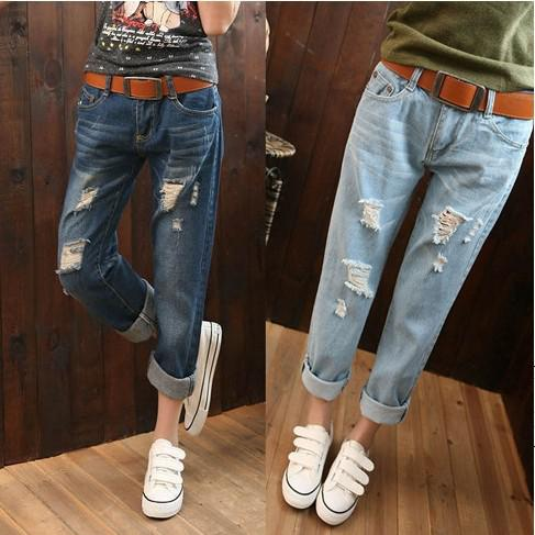 2017 2016 Brand Design New Fashion Jeans Woman Low Waist ...