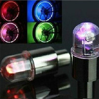 motorrad drl großhandel-Fahrrad Fahrrad Motorrad DRL Auto LED Rad Licht Taschenlampe Reifen Reifen Ventil Lampe