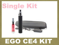 Ego Ce4 cigarette électronique kit de démarrage avec tension Ego-t variables 3.2-4.2ve cigarette batterie ce4 atomiseur rebuildable vaporisateur YA0030