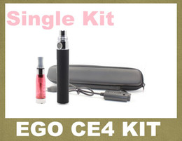Wholesale Rebuildable Ce4 Battery - Ego Ce4 Electronic Cigarette Starter kit With Ego-t variable voltage 3.2-4.2v e cigarette battery ce4 rebuildable atomizer vaporizer YA0030