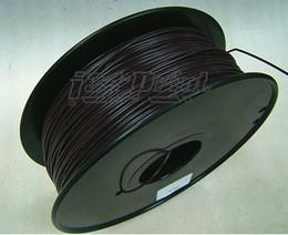 Wholesale 3d Spool - Black color 3d printer filament Flexible PLA ABS 1.75mm 3mm 1kg spool plastic Consumables Material for MakerBot RepRap UP Mendel