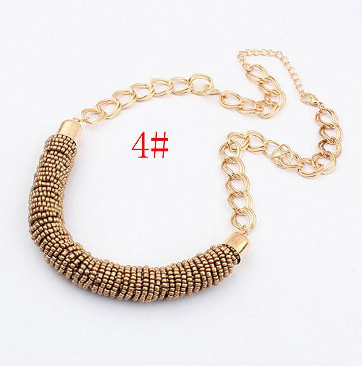 MIC Bohemian, European And American Fashion, 5 - Color Beads, Hand Make ,Necklace Female Models 143