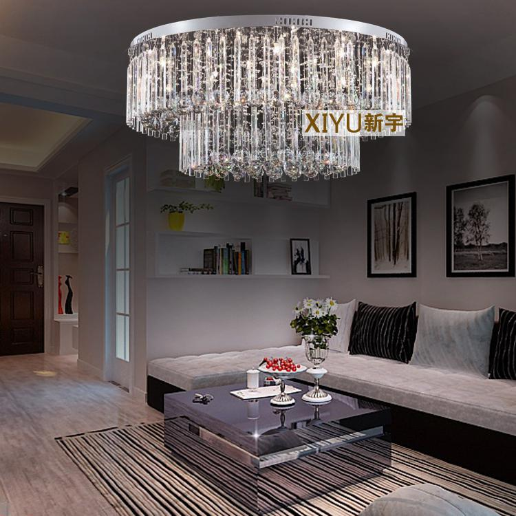 Bedroom Lighting For Low Ceilings Bedroom Curtains With Blinds Home Furniture Bedroom Sets Girly Bedroom Decor: 80*33 Cm Crystal Ceiling Lamp Modern Low Voltage Lights