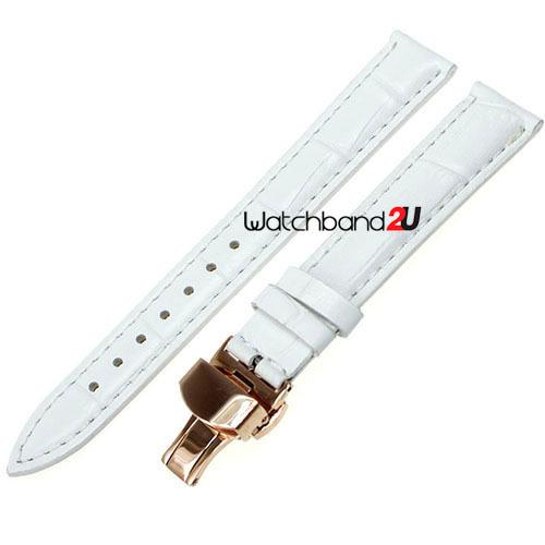 Cinturino cinturino in pelle di vitello grana in croco con fibbia in oro rosa all'ingrosso, 16mm, 18mm, 20mm, 22mm, 24mm407