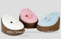 Wholesale Baby Bean Bag Pink - Newborn Babies Kids Toddler Baby Bean Bags Seat Chair Sofa Bed Furniture,comfortable child beanbag toddler chair - BROWN+pink blue white
