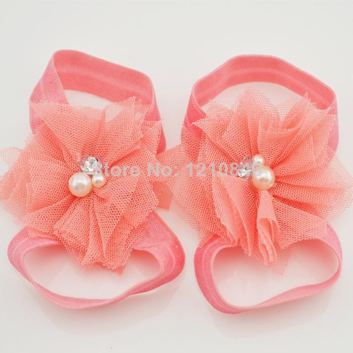 Moq Peach Baby Girl Summer Shoes Newborn Infant Toddler