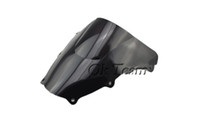 Wholesale Double Bubble Windshield - Double Bubble Windshield WindScreen For 2003-2008 Suzuki SV650 1000 03-08 Black Transparent