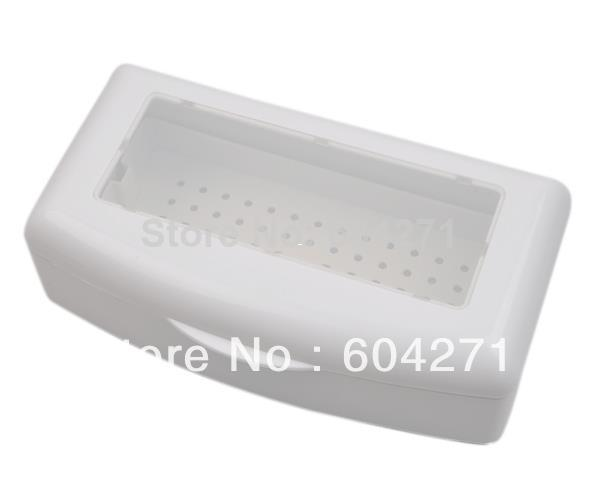 Wholesale-Free Shipping Professional Sterilizing Tray for sterilizing nail art tools,HB-SterilizingTray01-White sterilization box407