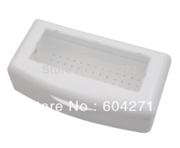 Wholesale Stamps Machine - Wholesale-Free Shipping Professional Sterilizing Tray for sterilizing nail art tools,HB-SterilizingTray01-White sterilization box407