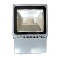 Wholesale Light Luminance - 100W New 2 LEDs High Luminance Outdoor Lamps LED Flood Light AC 85-265V 10000LM Waterproof LED Street Light 3 Years Warranty