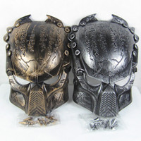Hot Sell Costume Mask Supper Réplique Alien VS Predator Guerrier Movie Mask Cosplay Halloween Props 10pcs Lot