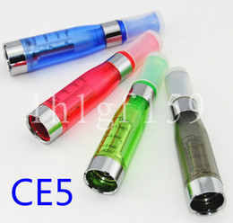 Wholesale Ego Ce5 Wick Atomizers - No wick Ce5 atomizer clearomizer Electronic cigarette upgrade CE4 1.6ml No cotton for eGo series e cigarette ego t ego-t atomizers