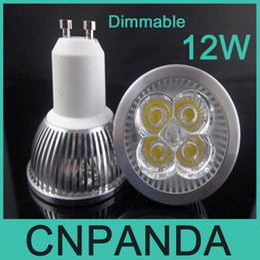 Wholesale 4x3w Led Bulb - High Power CREE 12W 4x3W Dimmable GU10 MR16 E27 E14 GU5.3 B22 Led Light Lamp Spotlights Led Bulbs CE RoHS Free Shipping