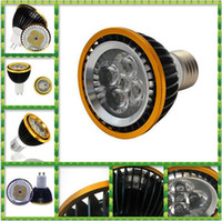 Wholesale Dimmable Mr16 Led Downlights - PAR20 E27 GU10 MR16 Led Bulbs Light 9W 12W 15W Warm Pure Cool White Dimmable Led Spotlight Led Downlights CE RoHS SAA 30pcs