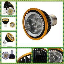 Wholesale Dimmable Mr16 Led Downlights - PAR20 E27 GU10 MR16 Led Bulbs Light 9W 12W 15W Warm Pure Cool White Dimmable Led Spotlight Led Downlights CE RoHS SAA 30pcs