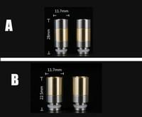 Wholesale Mini Dct Tank - 510 Stainless Steel Drip Tips tip fit ego mini 3 DCT Monkey 3D Glass RDA RBA Nimbus Enigma enigma Cat Trident stillare kraken patriot tank