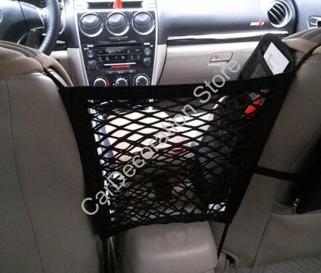 car purse storage net organizer between two front seats storage bag net car organizer india car. Black Bedroom Furniture Sets. Home Design Ideas