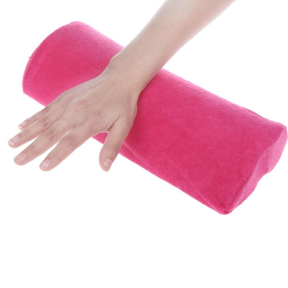 All'ingrosso-2014 di alta qualità morbido panno di cotone titolare della mano cuscino cuscino nail braccio asciugamano resto nail art manicure trucco strumenti cosmetici407