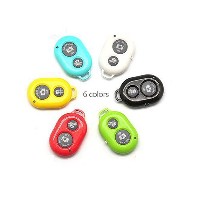 Bluetooth Remoto Self-timer Shutter para telefones IOS e Android iPhone 5S 5C 5 4S Galaxy S4 Note3 Smartphones e Tablet DHL / EMS