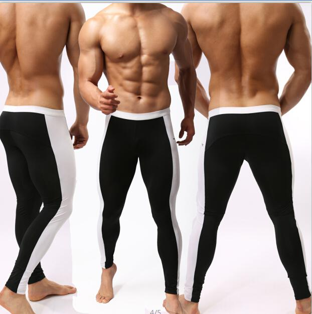 Men/'s Sports Long Pants Slim Fit Running Gym Fitness Yoga Cycling TightsTrouser