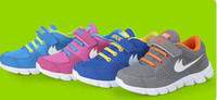 Wholesale New Autumn For Girls - 2014 New Summer popular children's shoes for boys and girls running shoes breathable shoes kids Sneakers