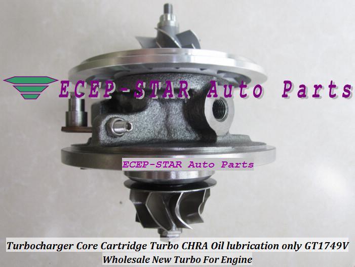 TURBO Cartouche CHRA Core GT1749V 701854 701854-5004S 701854-0003 028145702N Pour AUDI A4 A6 Seat Cordoba Leon Vw Caddy Polo PASSAT ASV 1.9L