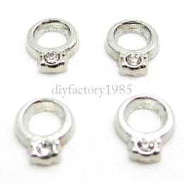 """Wholesale Locket Rings Wholesale - 20pcs lot """"Ring"""" floating charms DIY charms for necklace & bracelets fashion charms accessories glass Locket charms LSFC052*20"""