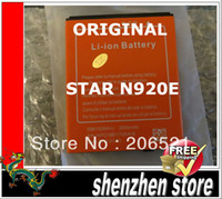 Wholesale Star Phone Batteries - New Original 2800MAH EB615268VU Battery For STAR N920e Phone Free shipping Airmail + tracking number