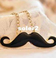 Wholesale Beard Sweater - Free Shipping!NEW Korean Fashion Necklace, Mustache Beard Pendants Necklace Sweater Chain A433
