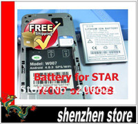 Wholesale Star Phone Batteries - Original Battery Replacement for STAR W007 W008 Dual Sim Android phone Free Shipping Airmail