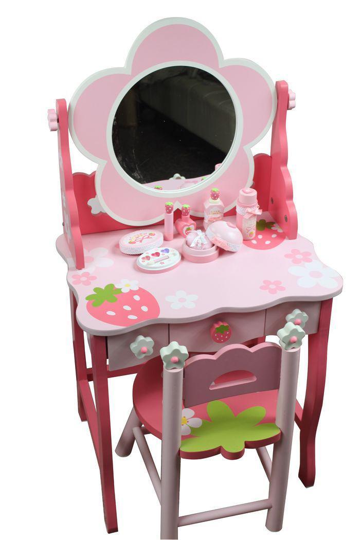 2020 Mother Garden Strawberry Luxury Girl Dresser Dressing