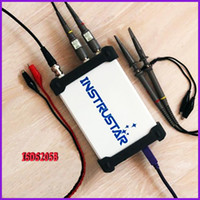 Wholesale New PC Based USB Digital Oscilloscope INSTRUSTAR ISDS205B Spectrum Analyzer DDS Sweep Data Recorder