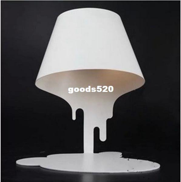 Beautiful LIQUID TABLE LAMP MELTING Paint Table Light Designer Modern Bedside Table  Lamp Crystal Drop Chandelier Antique Wall Lights Children Chandelier Online  With ...
