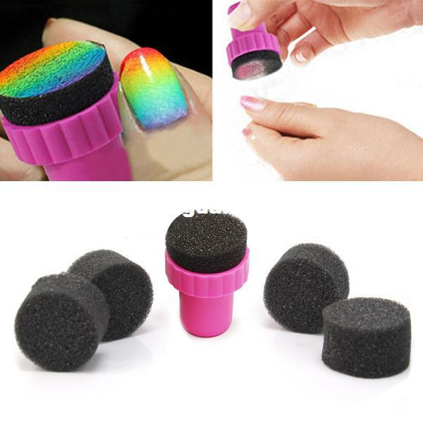 Wholesale-Magic Nail Art Sponges with Stamper Polish Stamping ...